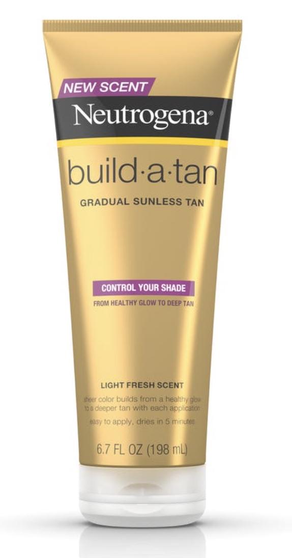 Neutrogena sunless tanning lotion