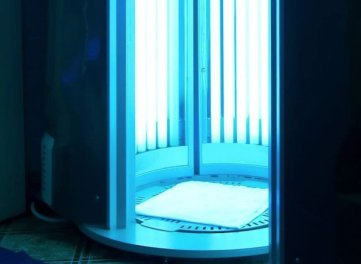 Artificial Tanning Booth