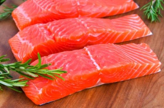 salmon fatty fish cuts