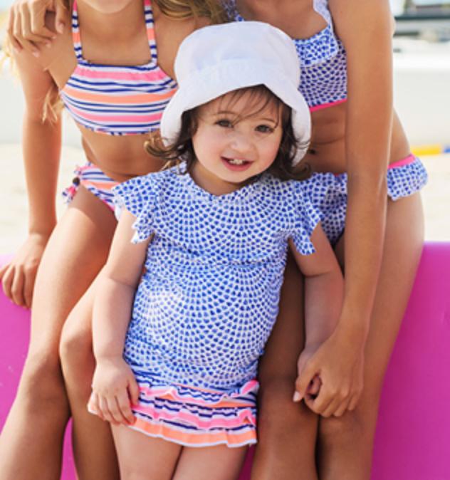 Infant sun protection beachwear