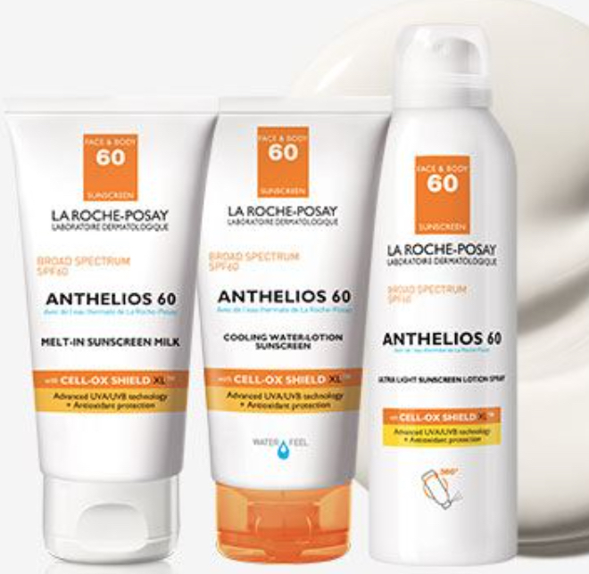 Anthelios sunscreens