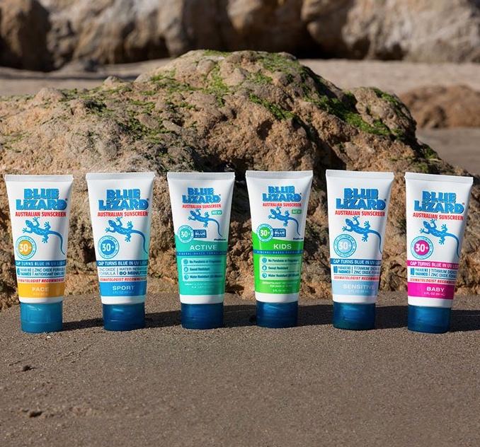 Blue Lizard sunscreens