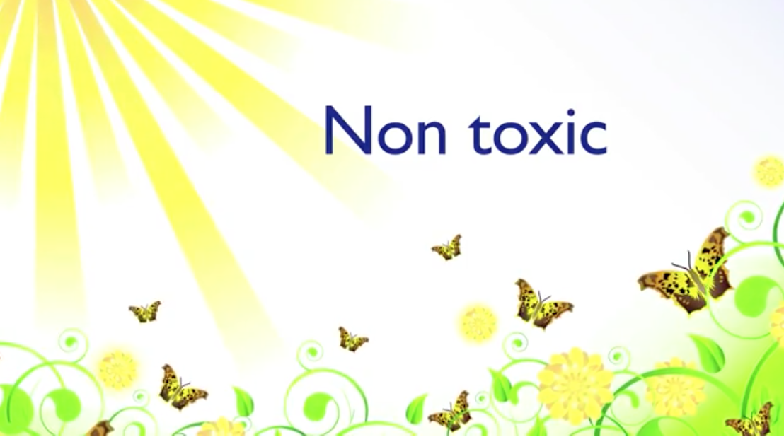 Natural and non-toxic