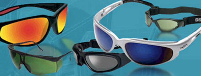 Sunglasses for eye safety