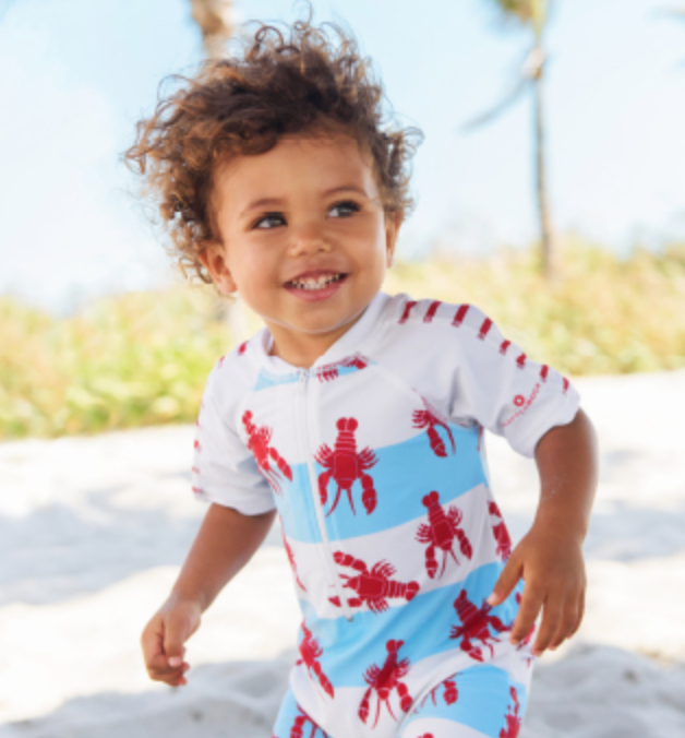 SPF infant Swimsuit for a boy