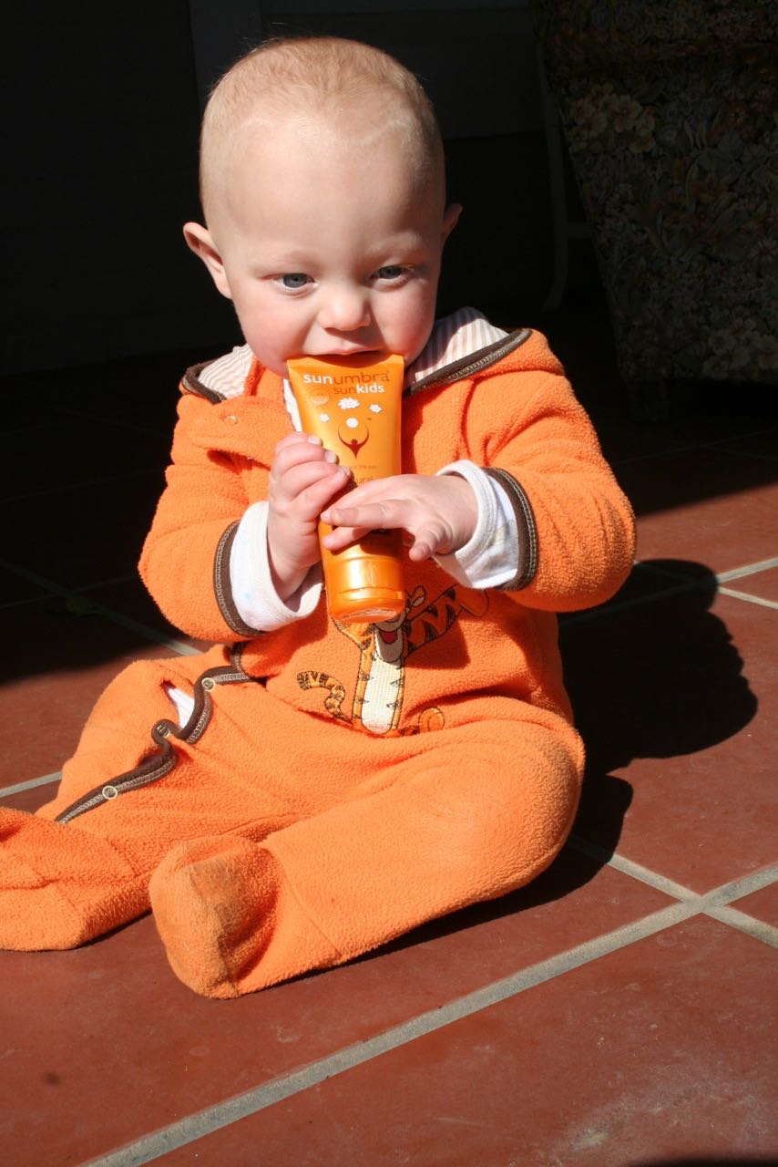 Healthy baby sunscreen