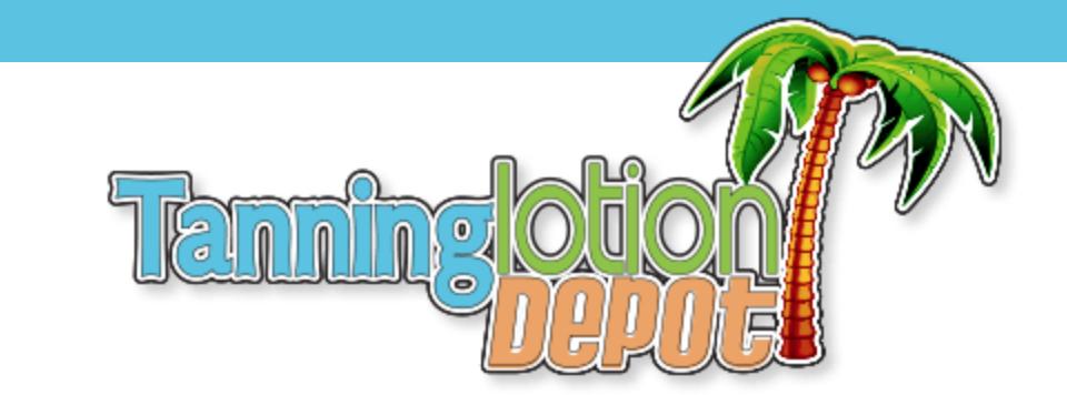 tanning lotion depot