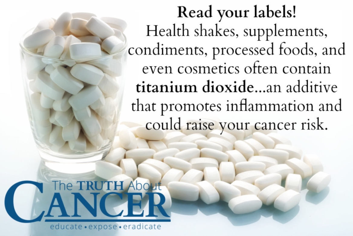 Truth about Cancer: titanium dioxide