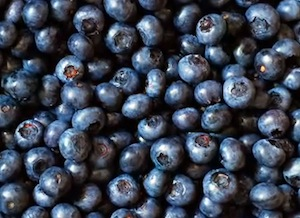 blue-berries for antioxidants