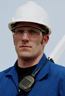 Construction safety sunglasses