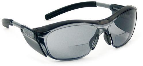 Bi-focal safety sunglasses