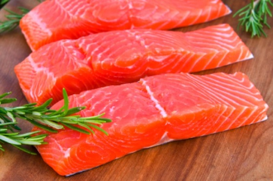 salmon fatty fish cuts