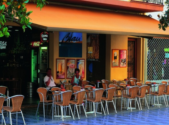 restaurant sun shade
