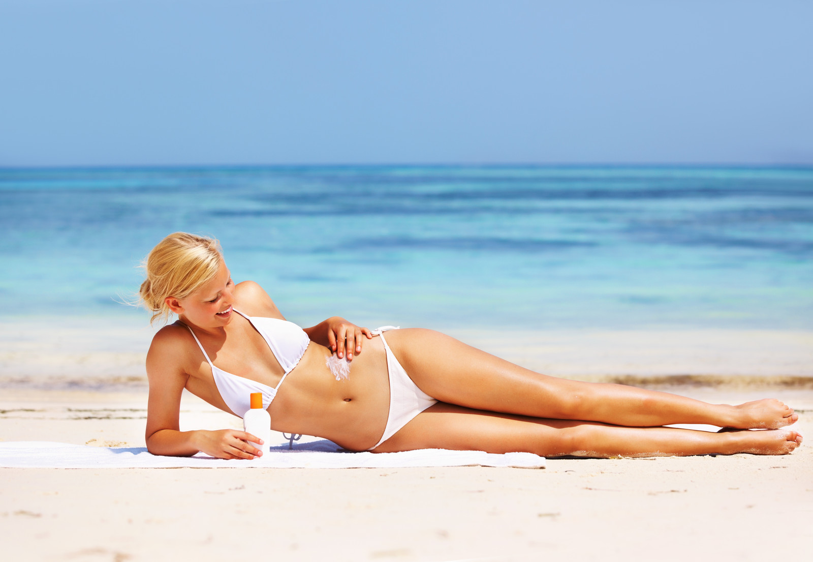 Sunscreen products for sexy image