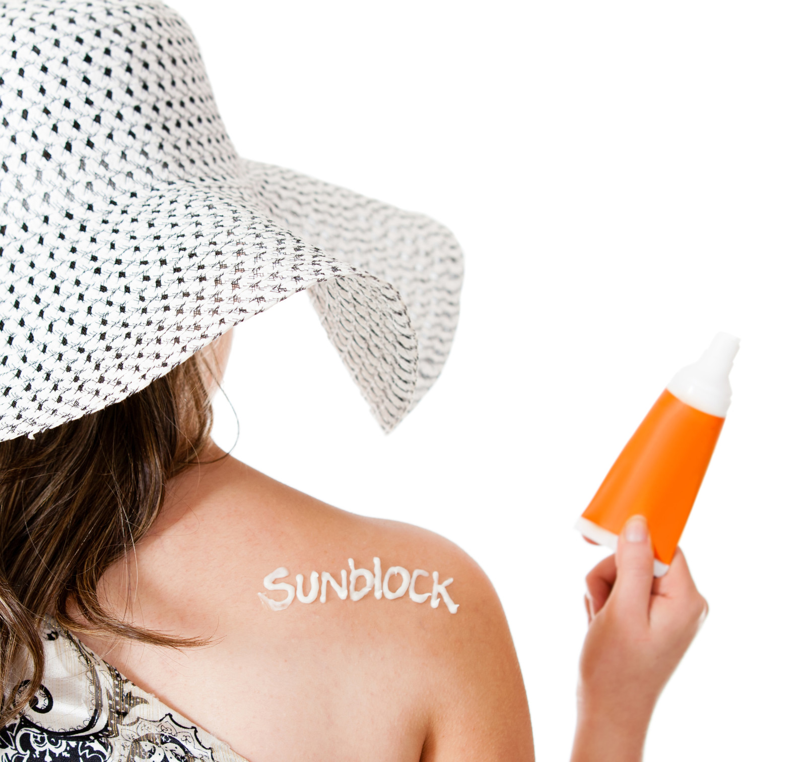 sunblock tanning product