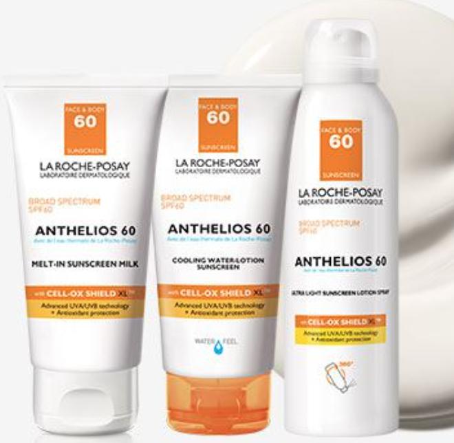 Anthelios sunscreens