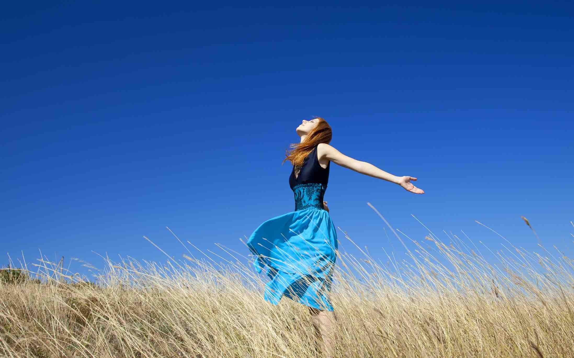Embrace the sunshine