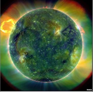 NASA's sun picture