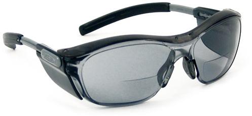 Bi-focal safety sunglasses