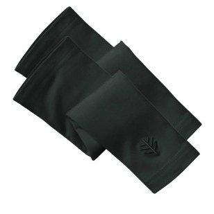 Black sun protection gloves